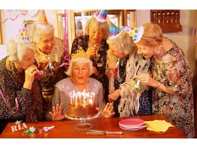 Прикол с днем рождения бабушка